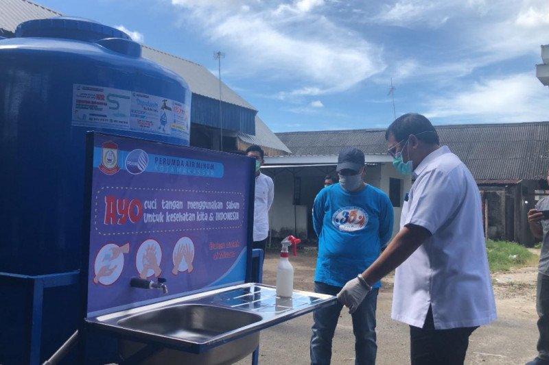 Pemkot Makassar sediakan wastafel di ruang publik