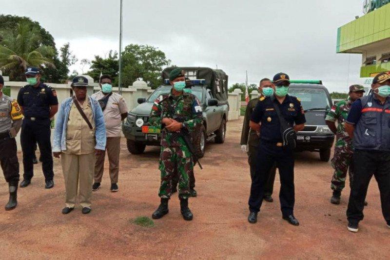 Tim terpadu perbatasan RI-PNG gelar patroli  cegah virus corona