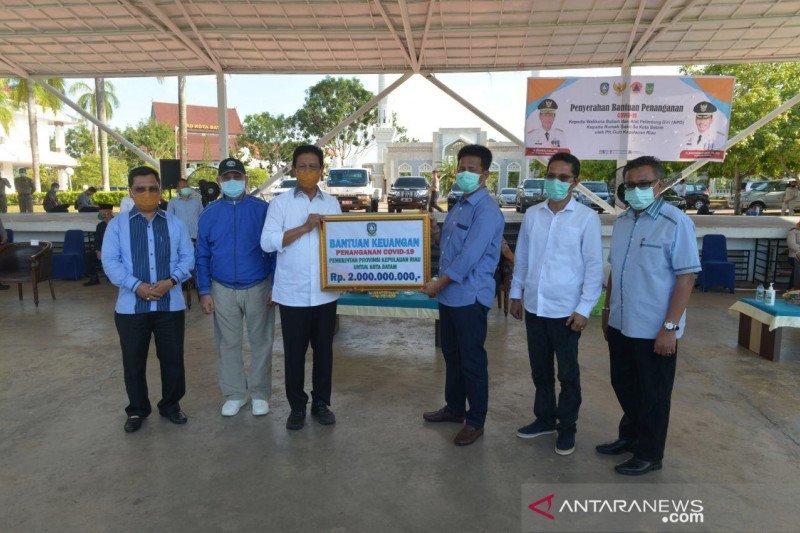 Pemprov Kepri distribusikan Rp2 miliar untuk penanganan COVID-19 di Batam