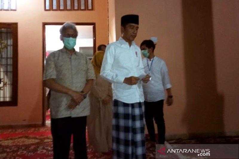 Rumah duka ibunda Presiden Joko Widodo tanpa kepadatan pelayat