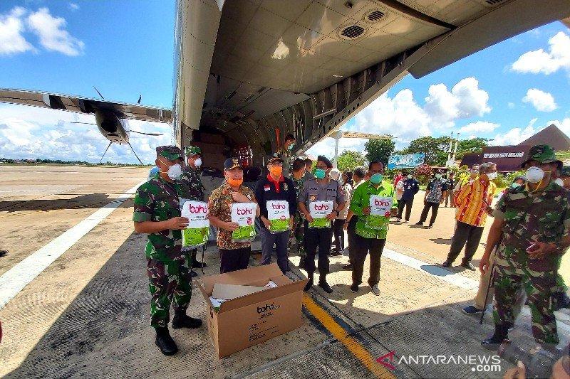 Kalteng berupaya datangkan 2 juta masker dan 20 ribu APD