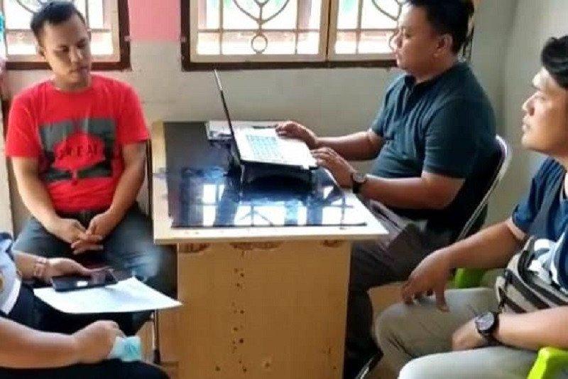 Polisi tangkap pelaku penipuan catut nama Kabid Humas Polda Lampung