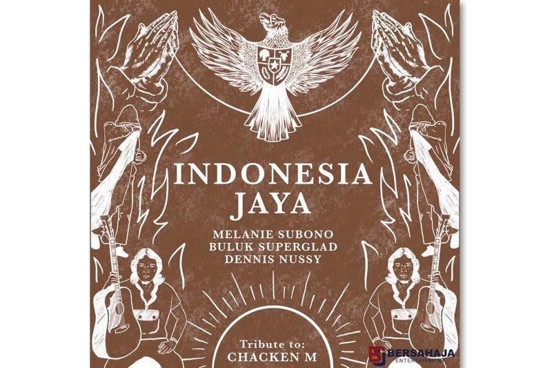 "Melanie Subono, Buluk ""Superglad"" dan Dennis Nussy kolaborasi rilis ulang ""Indonesia Jaya"""