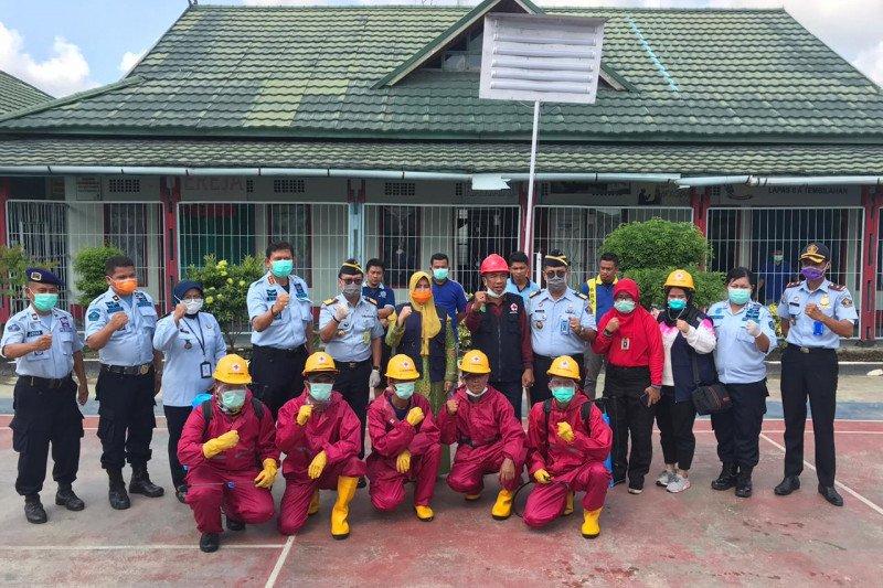 Kakanwil Kemenkumham Riau tinjau kesiapan Lapas Tembilahan hadapi COVID-19