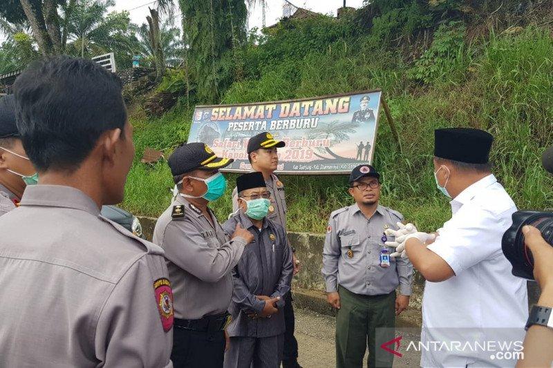 Masjid dan mushala sepanjang Jalan Lintas Sumatera sementara ditutup untuk mencegah COVID-19