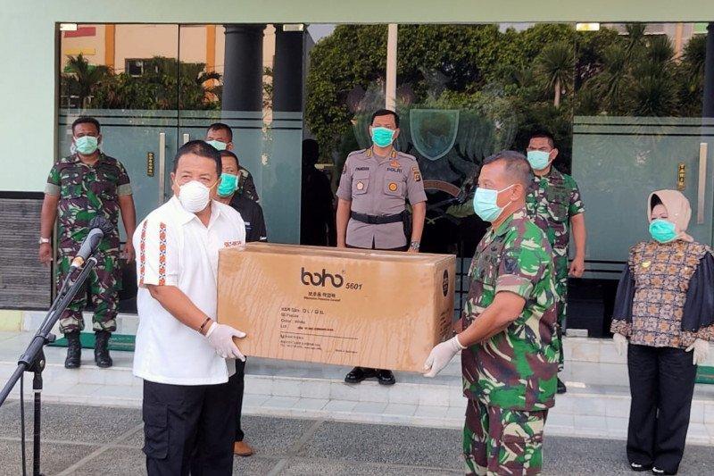 Lampung dapat bantuan sebanyak 2.000 APD dari pusat