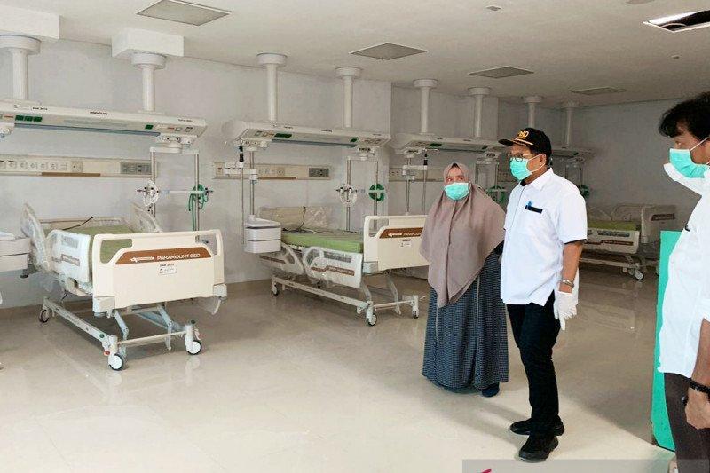 Ruang isolasi COVID-19 RSU Daya Makassar hampir rampung