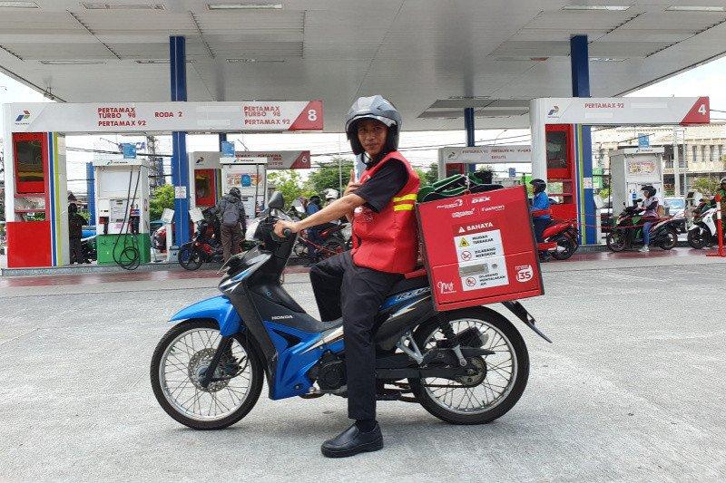 Pertamina mengoptimalkan layanan pesan antar BBM dan elpiji di Yogyakarta