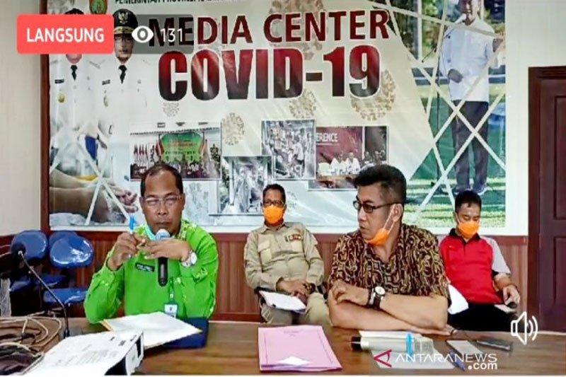 Kasus positif COVID-19 di Kalteng menjadi lima