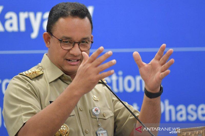 Mahfud sebutkan Anies Baswedan sudah ajukan soal karantina DKI Jakarta