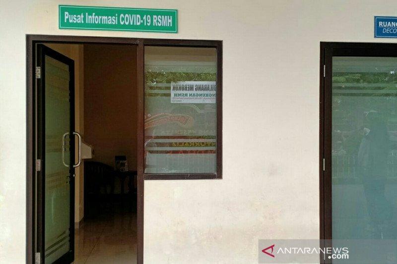 RS M. Hoesin Palembang buka layanan 24 jam konsultasi COVID-19