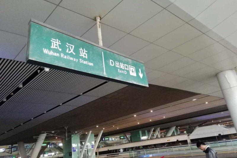 Sejumlah stasiun kereta api di Hubei China mulai layani penumpang