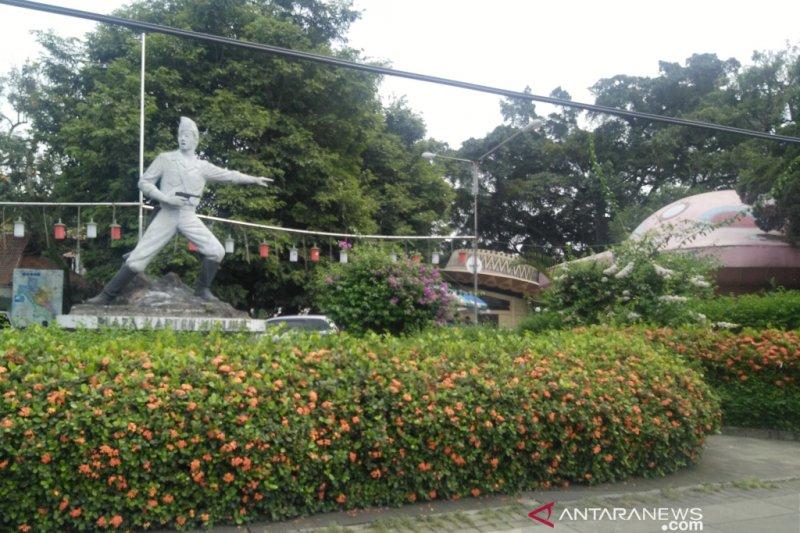 Pembongkaran Taman Topi ditunda Pemkot Bogor