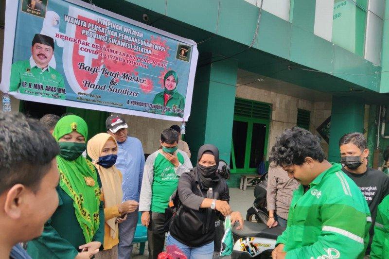 Sejumlah Parpol di Makassar bantu pemerintah perangi COVID-19