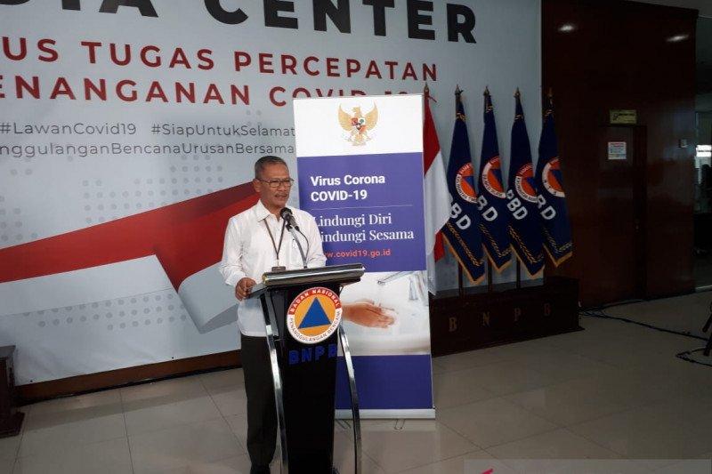 Jubir: Kasus COVID-19 menyebar di 27 provinsi di Tanah Air