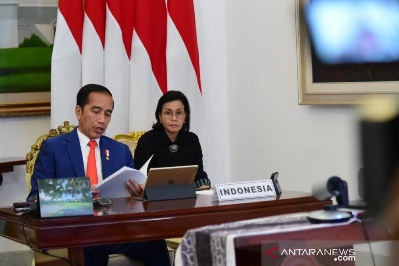 "Jokowi ajak G20 ""perangi"" COVID-19 dan perlambatan ekonomi"