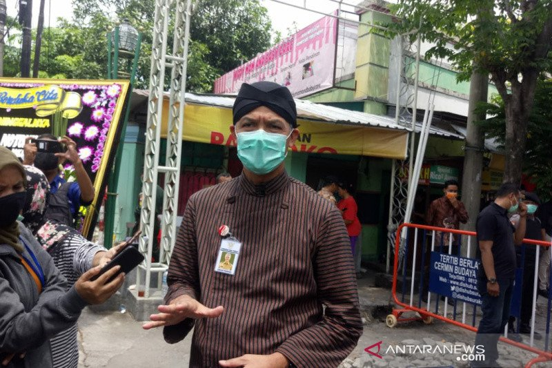 Pemprov Jateng bantu siapkan pemakaman Ibunda Presiden Jokowi