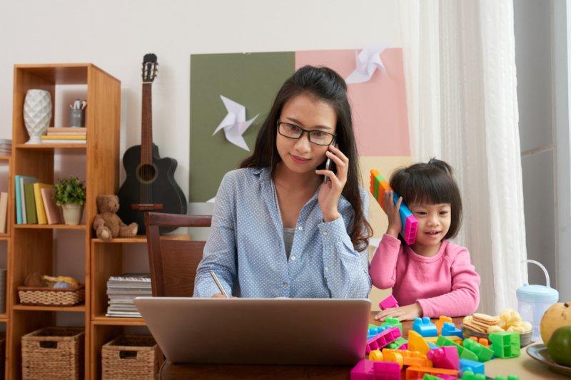 Tips jalani WFH untuk para orang tua dengan balita