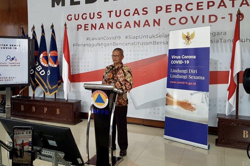 Positif COVID-19 di Indonesia 1.046 kasus dan 87 meninggal