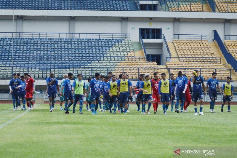 Persib Bandung rencanakan mulai latihan bersama pada Senin pekan depan