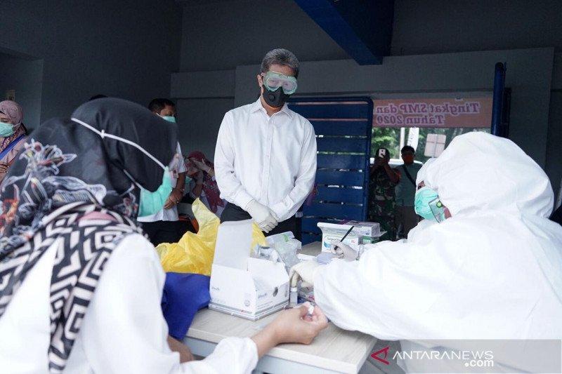 Pemkot Bogor awasi penyemprotan disinfektan COVID-19