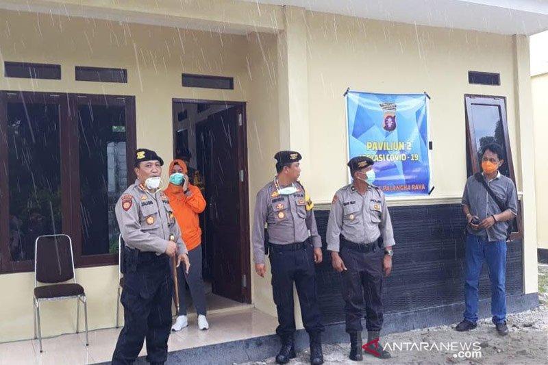 Lima unit ruang isolasi disediakan bagi anggota polisi diduga terpapar virus corona