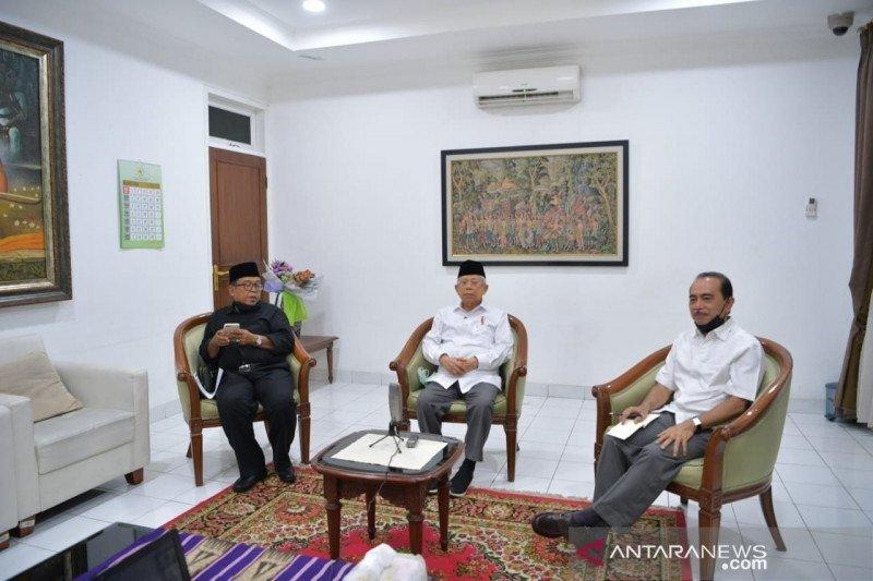 Wakil Presiden Ma'ruf Amin katakan tes cepat bisa dilakukan dari pintu ke pintu