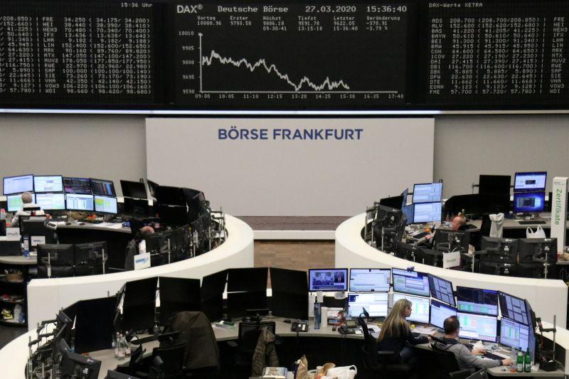 Indeks DAX 30 Jerman menguat 2,79 persen