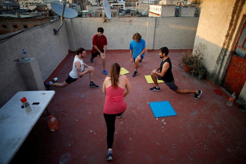 Sebaiknya anda olahraga seperti ini saat puasa di tengah pandemi COVID-19