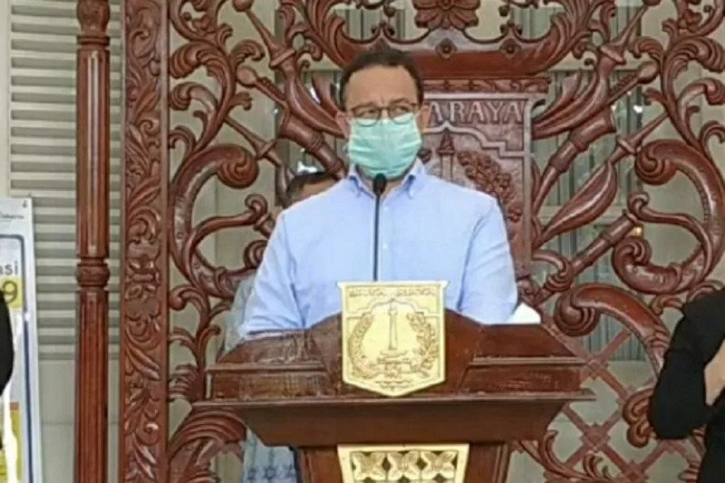Gubernur DKI sebut 283 jenazah dimakamkan mengikuti SOP COVID-19
