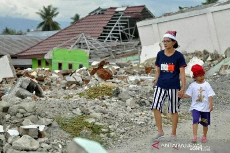 Gempa magnitudo 5,8 di Palu