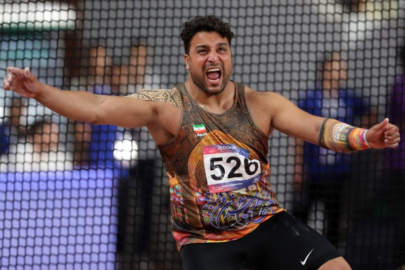 Jagoan atletik asal Iran positif terinfeksi virus corona