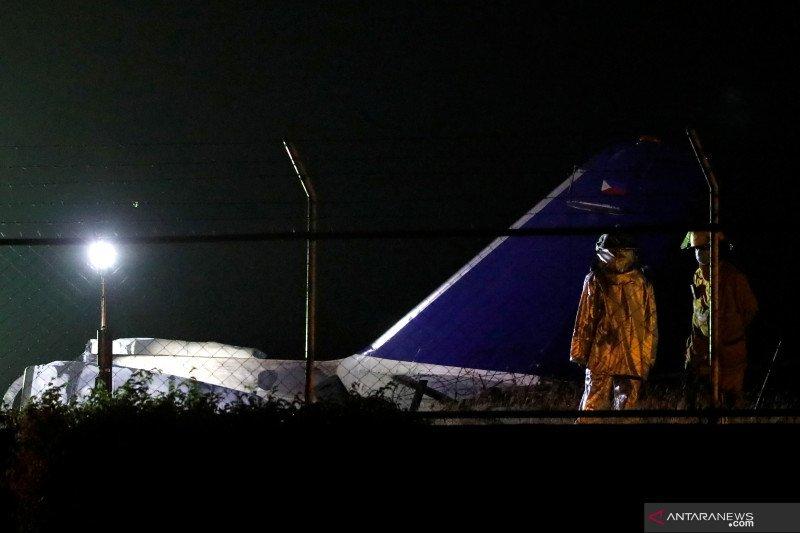 Pesawat untuk evakuasi medis meledak di Filipina, tewaskan delapan orang