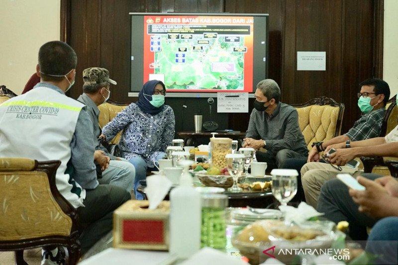 """Bogor menyiapkan dua skenario """"lockdown"""""""