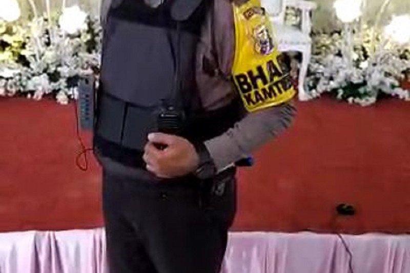 Polisi bubarkan  acara resepsi pernikahan di Jambi