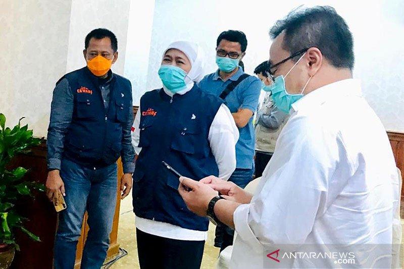 Gubernur bersyukur di Jatim 13 pasien positif COVID-19 sembuh