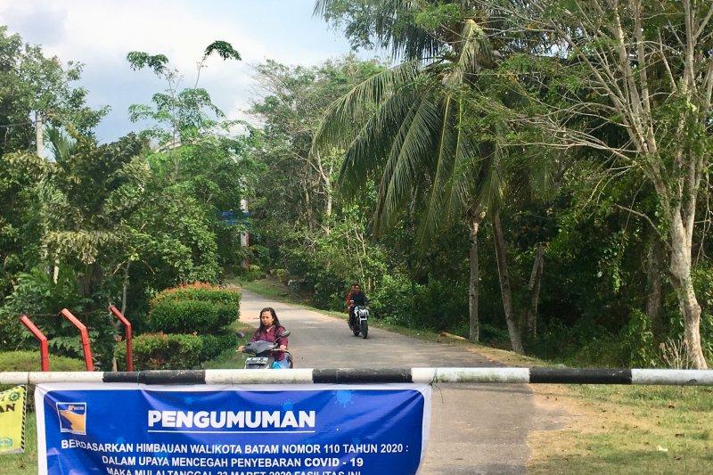 Lokasi wisata eks Sinam Pulau Galang tutup