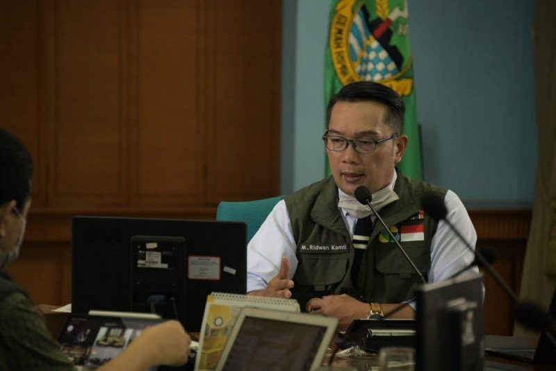 Gubernur Jabar izinkan pemerintah kab/kota terapkan karantina wilayah parsial