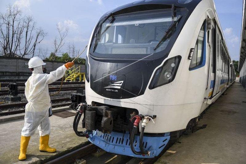 PT KAI pangkas jumlah perjalanan LRT Sumsel