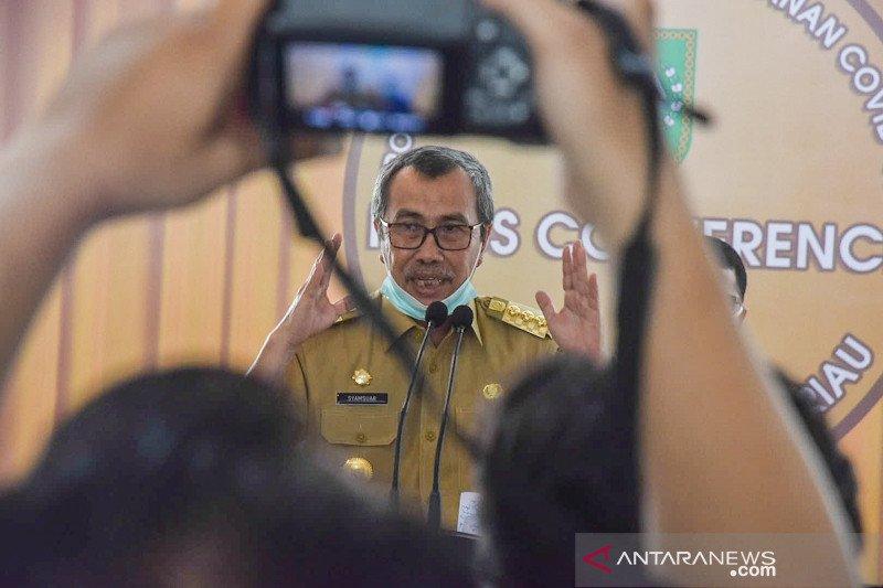 Gubernur Riau belum tes COVID-19 dahulukan untuk warganya, begini sebabnya