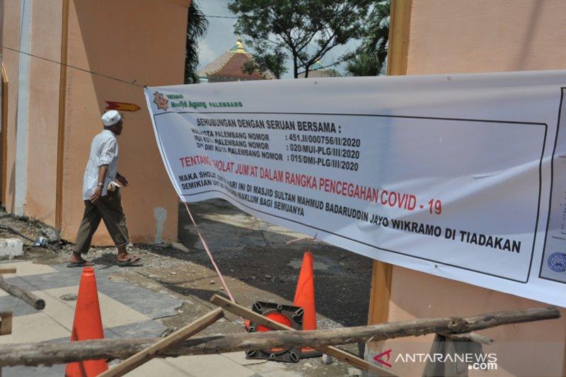 Shalat Jumat ditiadakan di Masjid Agung Palembang