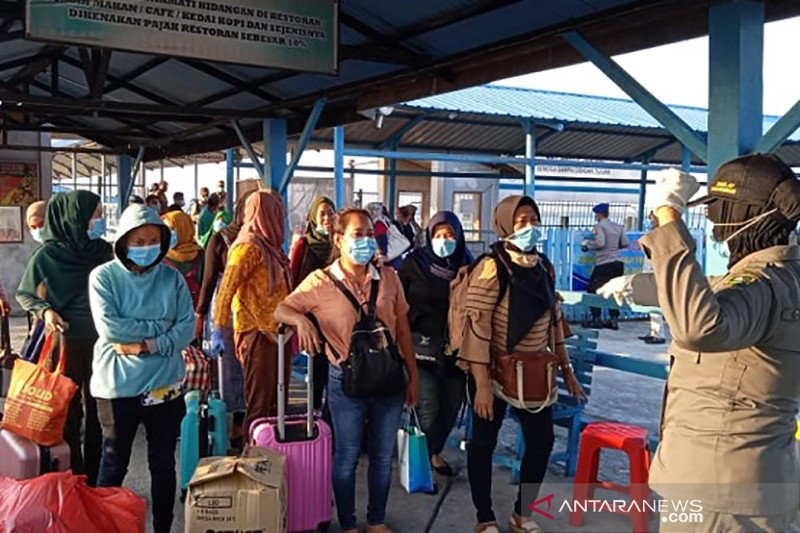 Sebanyak 32.192 pekerja Indonesia pulang dari negara terdampak COVID-19