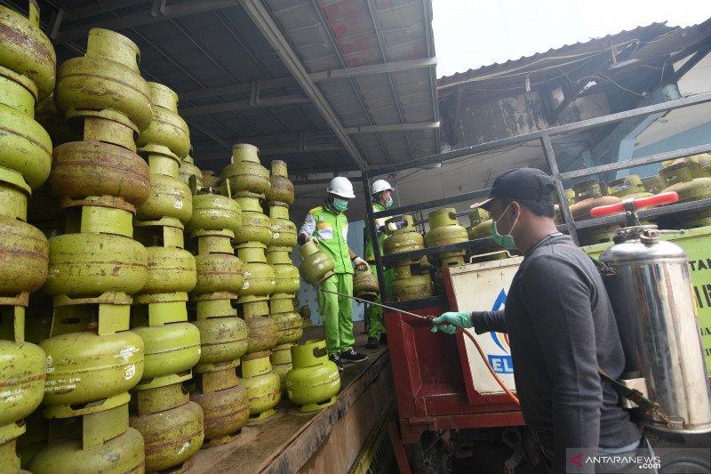 Permintaan elpiji 3 kg di Temanggung masih normal