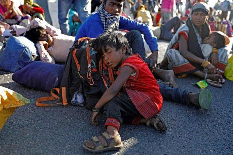 """India tidak akan perpanjang """"lockdown"""" karena warga miskin merasa kesulitan"""
