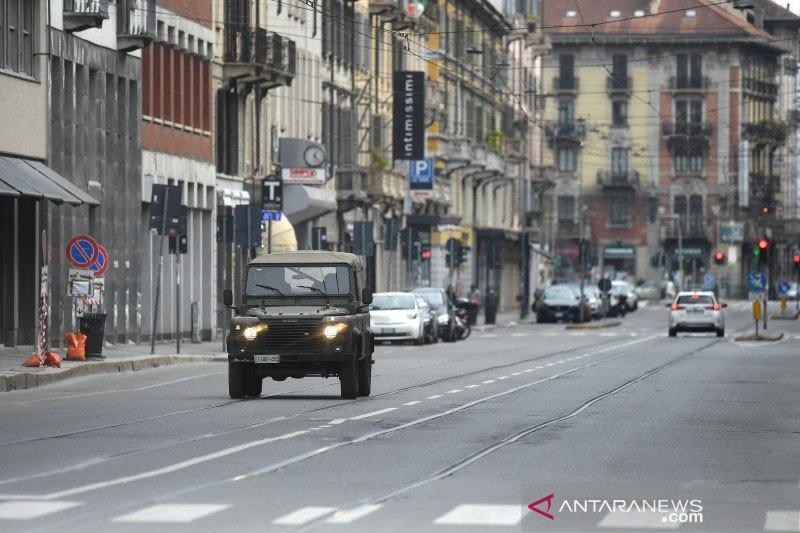 Italia perpanjang karantina wilayah hingga April