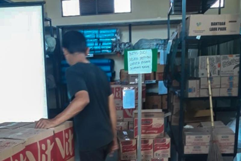 Dinsos Yogyakarta salurkan bantuan pangan ke keluarga PDP terkait COVID-19