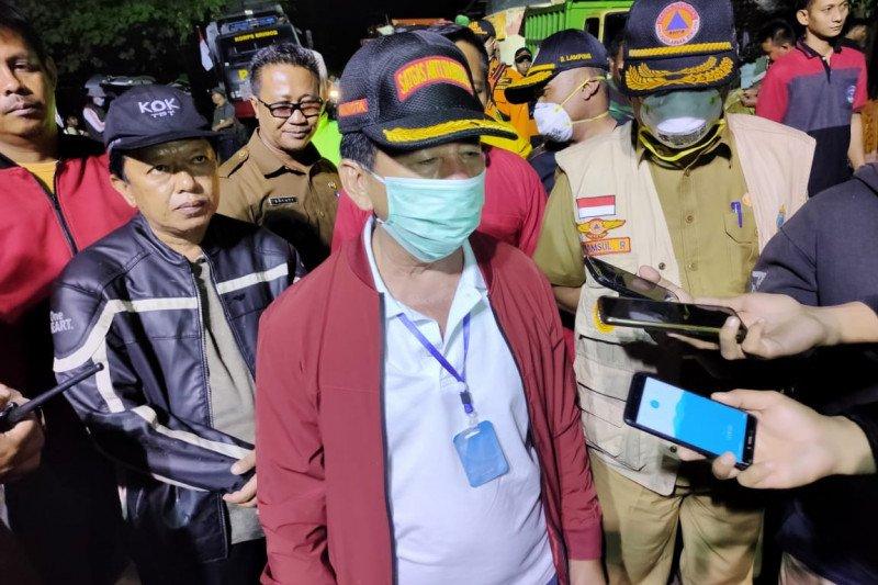 Wali Kota Bandarlampung tinjau lokasi banjir bandang