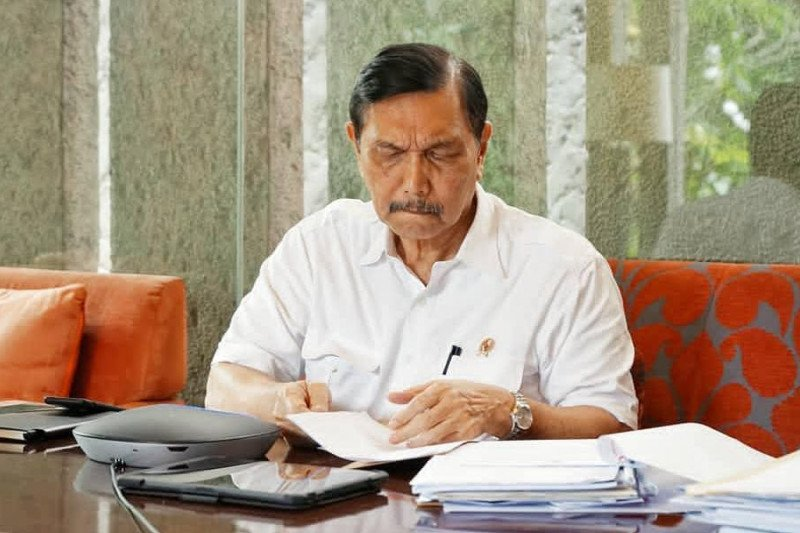 Boro-boro mikir pembangunan ibu kota negara, Luhut: Pemerintah sedang fokus tangani COVID-19