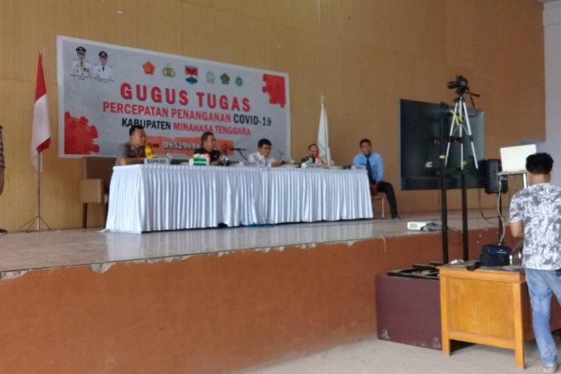 Cadangan pangan Kabupaten Minahasa Tenggara capai 1.975 ton
