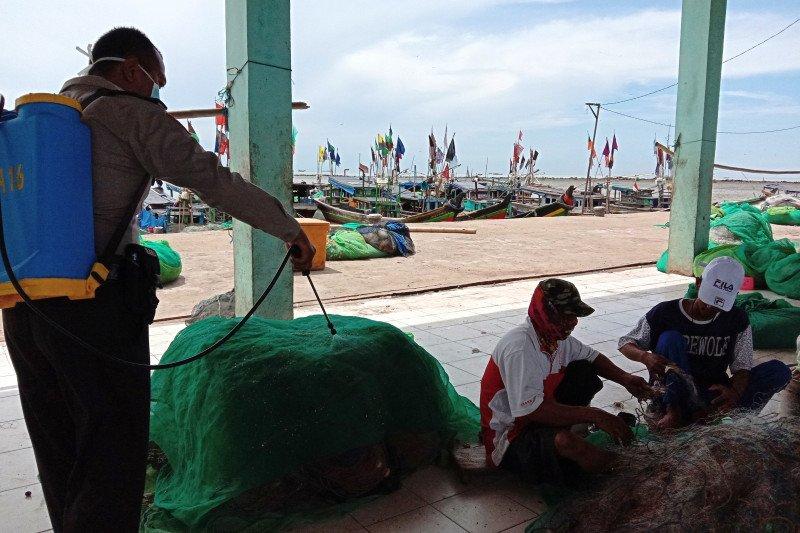 Cegah corona di kampung nelayan Lampung Timur